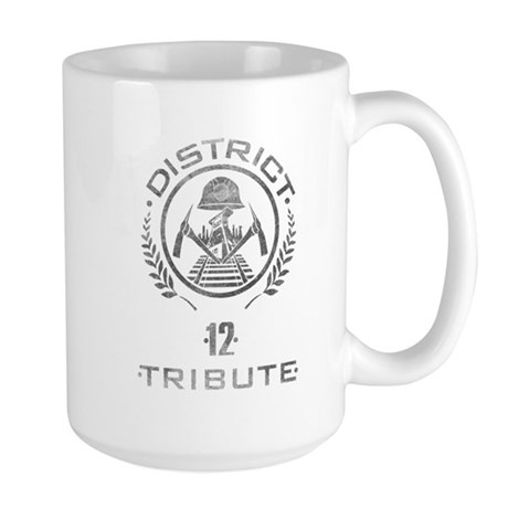 District 12 Tribute Large Mug