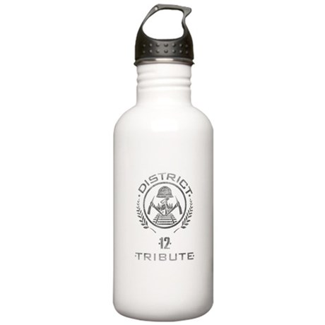 District 12 Tribute Stainless Water Bottle 1 Liter