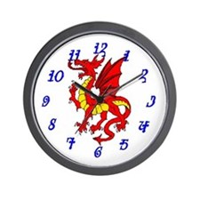 Dragon Cave Wall Clock