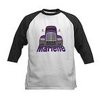 Trucker Marlene Kids Baseball Jersey