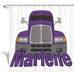 Trucker Marlene Shower Curtain