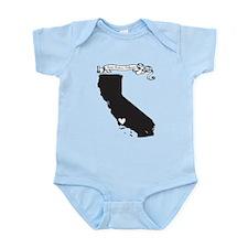 Santa Barbara.png Infant Bodysuit