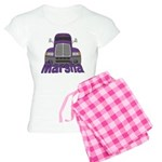 Trucker Marsha Women's Light Pajamas