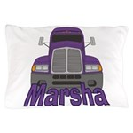 Trucker Marsha Pillow Case