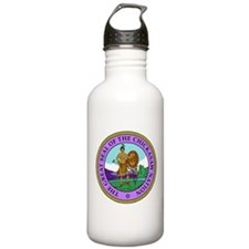The Great Seal of the Chickasaw Nation Water Bottle