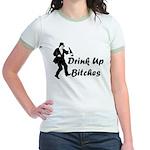 Drink Up Bitches Jr. Ringer T-Shirt