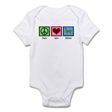 Peace Love Llamas Infant Bodysuit