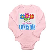 Cute New niece Long Sleeve Infant Bodysuit