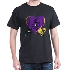 OYOOS Three Hearts design #1 T-Shirt