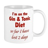 Gin & Tonic Diet Small Mug