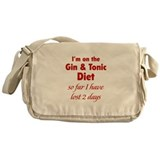 Gin & Tonic Diet Messenger Bag
