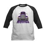 Trucker Melinda Kids Baseball Jersey