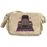 Trucker Melinda Messenger Bag