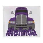 Trucker Melinda Throw Blanket