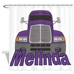 Trucker Melinda Shower Curtain