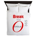 OYOOS Break the Cycle design Queen Duvet