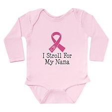 I Stroll For My Nana Long Sleeve Infant Bodysuit