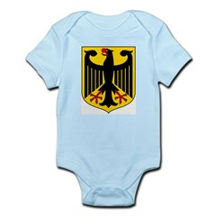 German Coat of Arms Infant Creeper