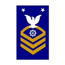 Master Chief Quartermaster<BR> Decal
