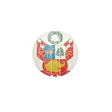 Peru Coat Of Arms Mini Button