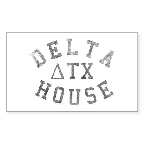 Delta House Rectangle Sticker