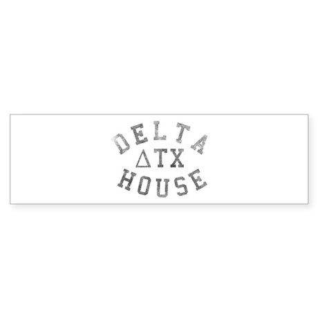 Delta House Bumper Sticker