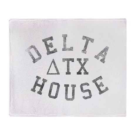 Delta House Throw Blanket