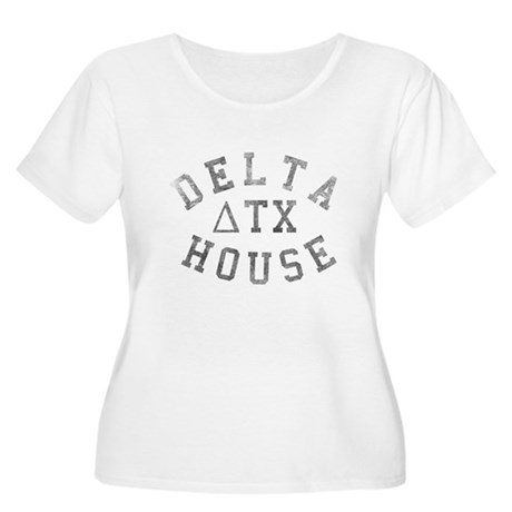 Delta House Plus Size Scoop Neck Shirt