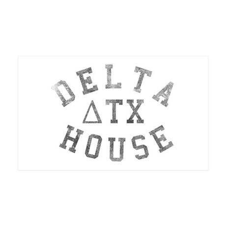 Delta House 35x21 Wall Decal