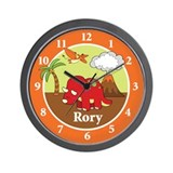 Dinosaur Wall Clock - Rory Wall Clock