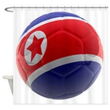 Korea World Cup Ball Shower Curtain