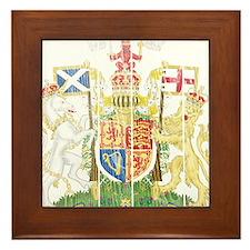Scotland Coat Of Arms Framed Tile