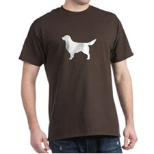 White Golden Retriever T-Shirt