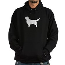 White Golden Retriever Hoodie