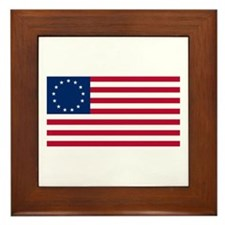USA Betsy Ross Flag Shop  Framed Tile