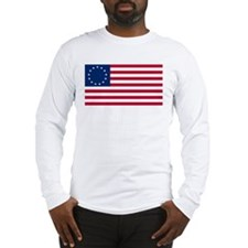 USA Betsy Ross Flag Shop  Long Sleeve T-Shirt