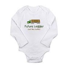Cute Lumberjack t Long Sleeve Infant Bodysuit