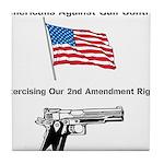 Second Amendment Tile Coaster