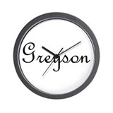 Greyson.png Wall Clock
