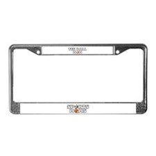 Tee Ball Baseball Mom License Plate Frame