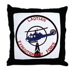 Laotion Expeditionary Force Throw Pillow
