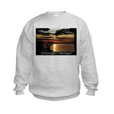 Ontonagon, Michigan Sunset Sweatshirt
