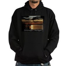 Ontonagon, Michigan Sunset Hoodie