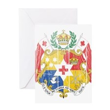 Tonga Coat Of Arms Greeting Card
