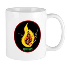 William Flames Mug