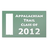 2011 Appalachian Trail - Class of 2012  Aufkleber