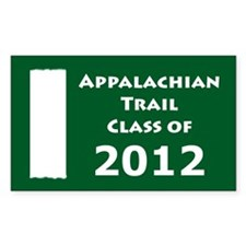 2011 Appalachian Trail - Class of 2012 Decal