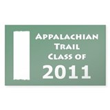 Class of 2011 Appalachian Trail Hiker Decal