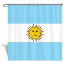 Argentina Flag Shower Curtain