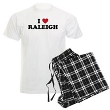 I Love Raleigh North Carolina Pajamas